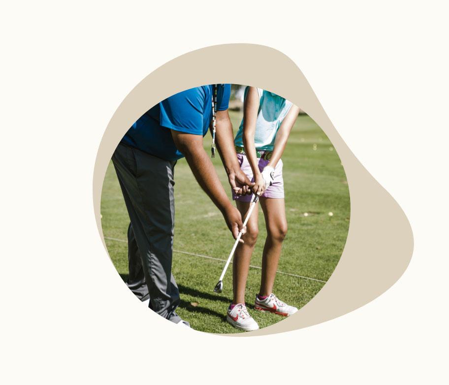 Golf Simulator PGA pro coaching